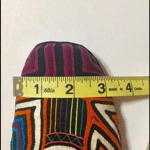 Shoes - Boho Cotton Quilt Multi Colored Boots